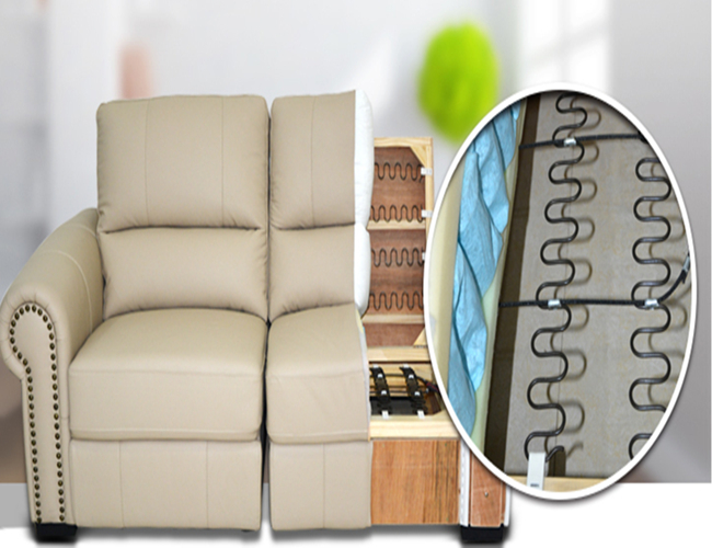 Customized Metal Sofa Cushion Spring Replacement With Heavy Gauge
